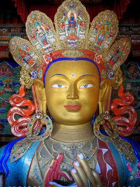 Maitreya from the Thikse Monastery
